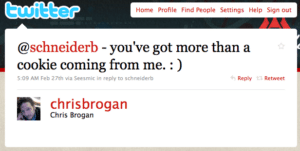 Chris Brogan Tweet - Trust Agents