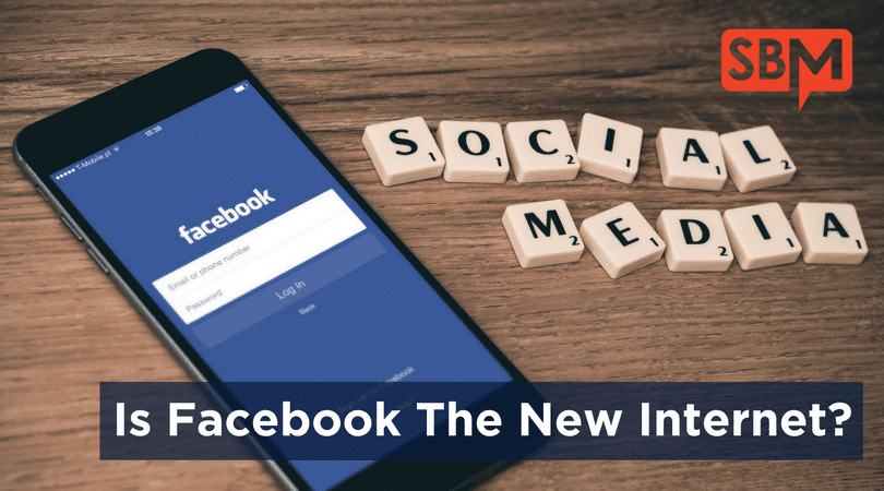 Is Facebook The New Internet?
