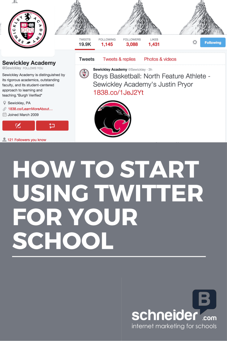 How To Start Using Twitter For Your School