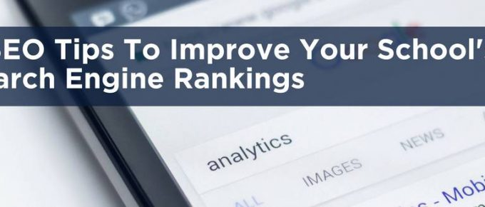 5 SEO Tips To Improve Your School's Search Engine Rankings Header