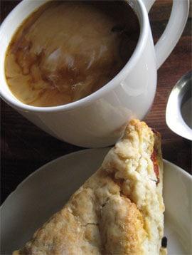 coffee-scone