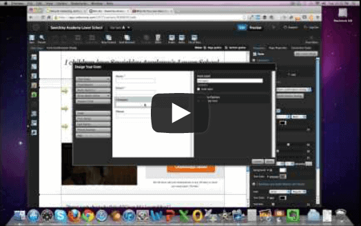 How To Create a Landing Page for your School Using Unbounce
