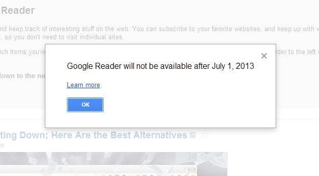 My Google Reader Alternative