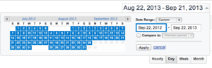 google-analytics-select-date