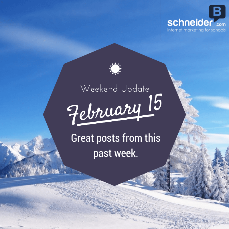 Weekend Update – Feb15