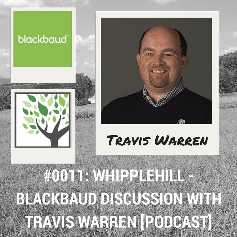 Travis Warren - Blackbaud - Whipplehill