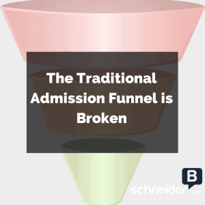 The Traditional Admission Funnel is Broken - Introducing The Enrollment Rings