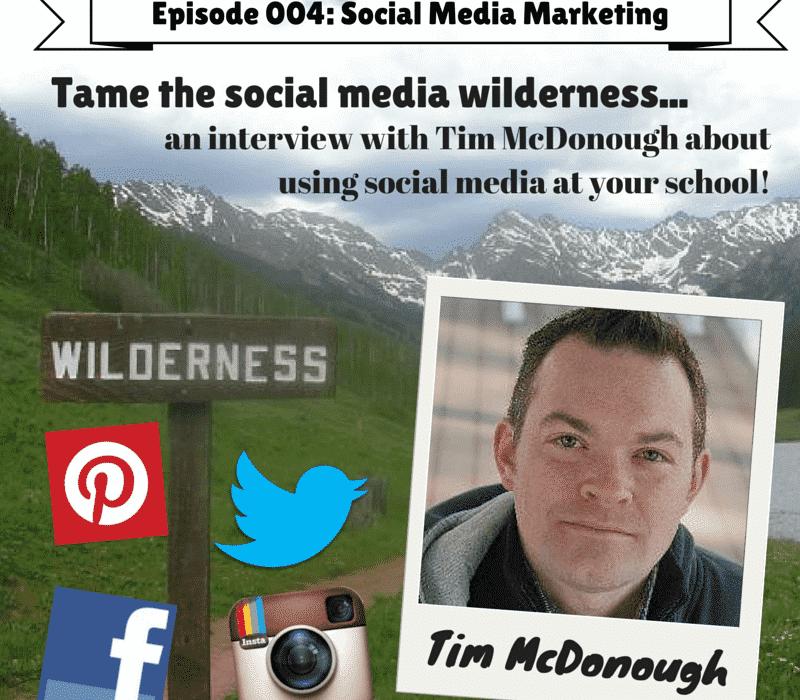 Social Media Marketing with Tim McDonough