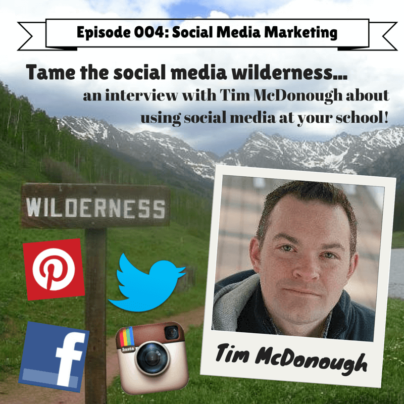 Social Media Marketing with Tim McDonough