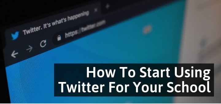 How To Start Using Twitter For Your School | Creating School Account On Twitter