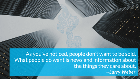 What People Do Want Is News And Information About The Things They Care About
