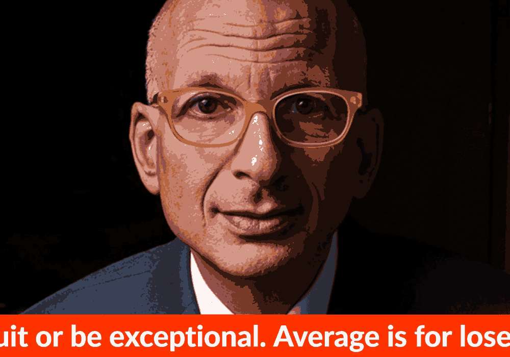 Quit Or Be Exceptional. Average Is For Losers