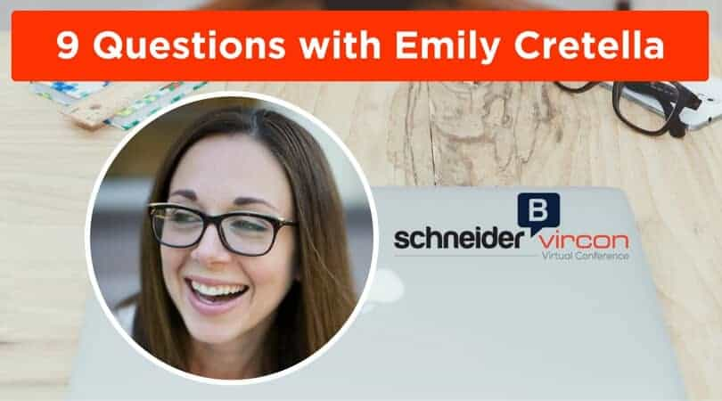9 Questions with Emily Cretella