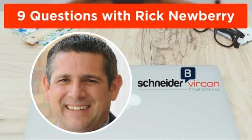 9 Questions with Rick Newberry