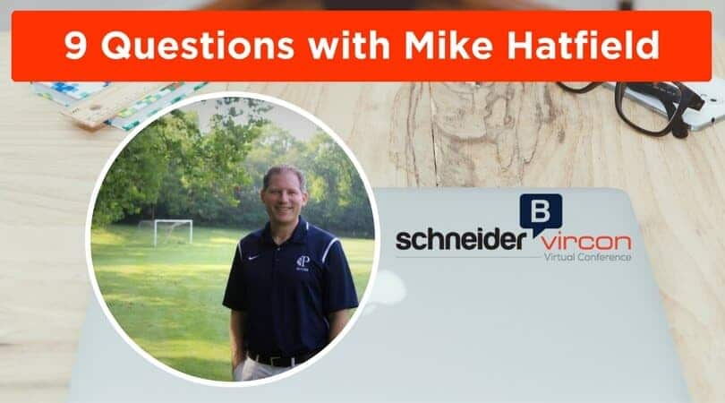 9 Questions with Mike Hatfield