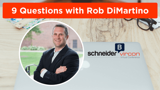 9 Questions with Rob DiMartino