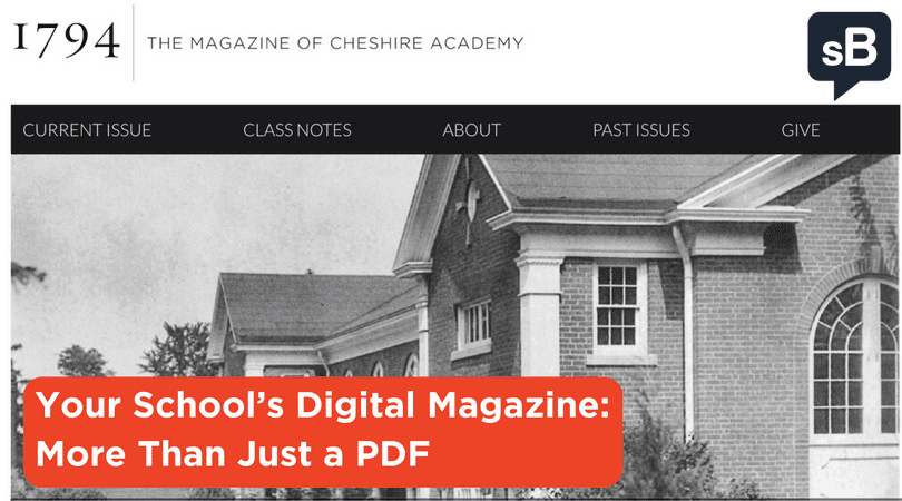 Your School's Digital Magazine: More Than Just a PDF