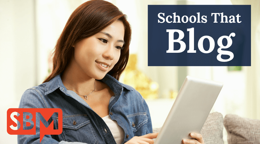Schools That Blog
