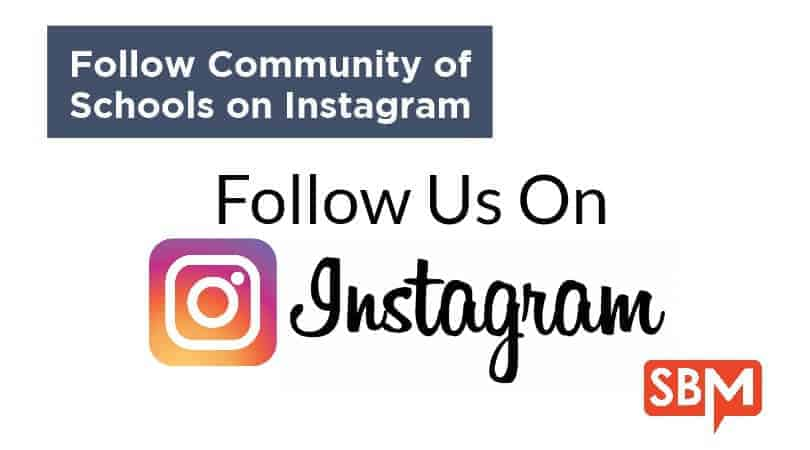 Follow Community of Schools on Instagram
