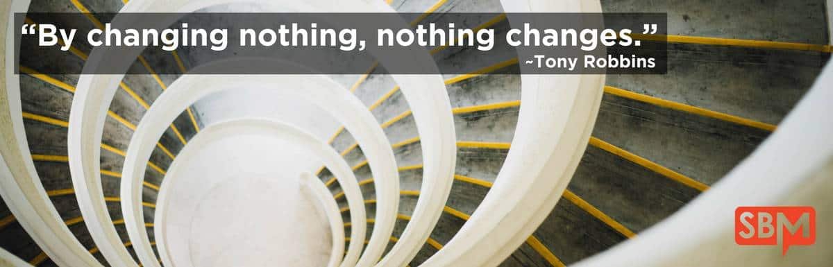By Changing Nothing, Nothing Changes