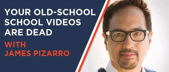 Your Old School School Video is Dead with James Pizarro
