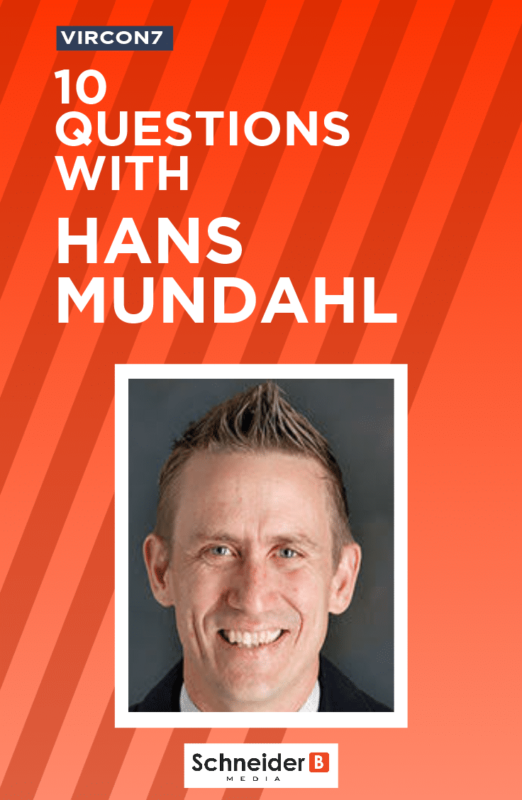 10 Questions with Hans Mundahl