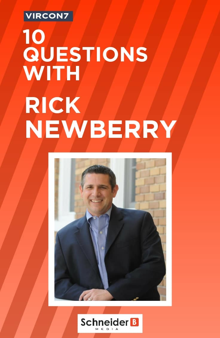 10 Questions with Rick Newberry